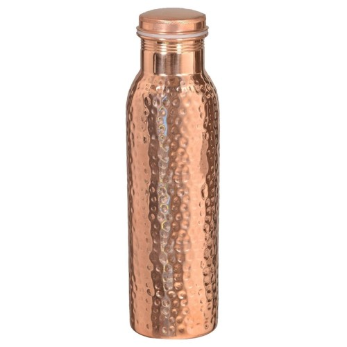 Copper water bottles Hammered Pure Coppe...
