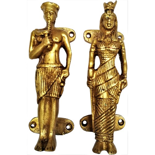 Brass Door Window Cupboard Handle Set Cl...