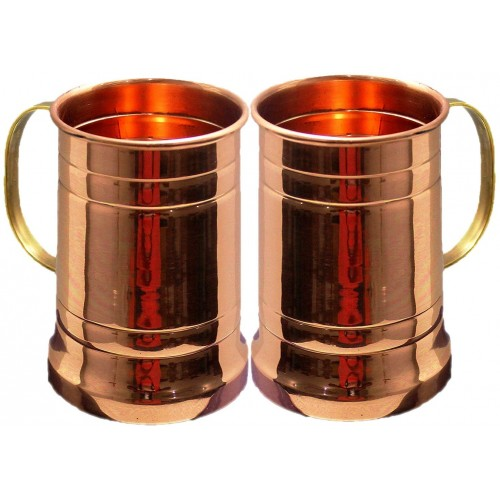 Large Moscow Mule Copper Mugs Make Any D...