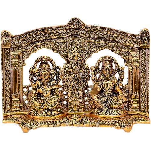 Laxmi Ganesh Showpiece Metal Statue
