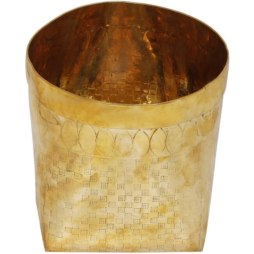 Container for Measuring Rice Brass Statu...