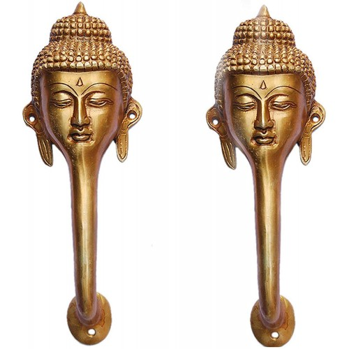 Brass Door Handle of Gautam Buddha