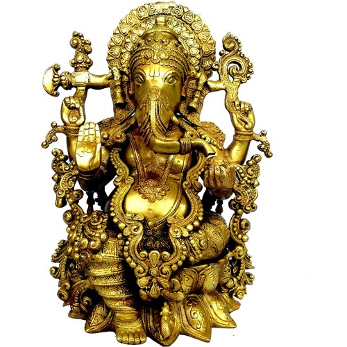 Glorious Statue of Lord Ganesha Made in ...