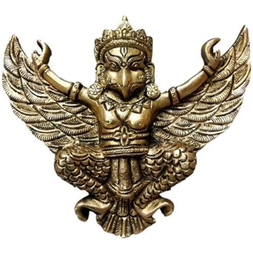 Brass Garuda Idol Wall Hanging