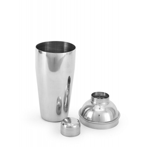 Stainless Steel Red Cocktail Shaker With...