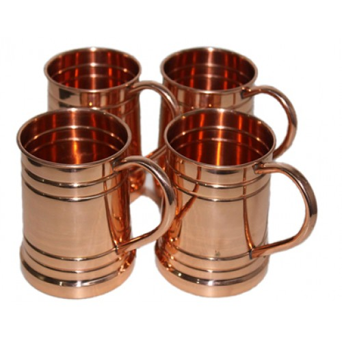 Drinkware Accessories Hammered Copper Mo...
