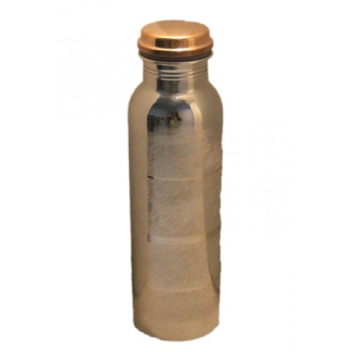 Pure Copper Water Bottle No Joint and Le...
