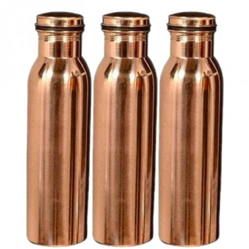 Copper water bottles 1000 ML Set of 3 Le...