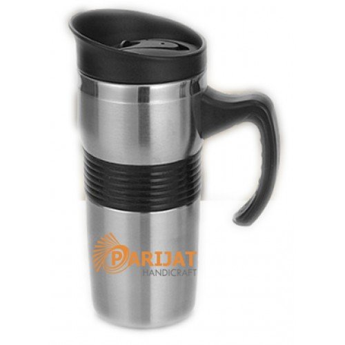 Travel Coffee Mug, Double Wall Stainless...