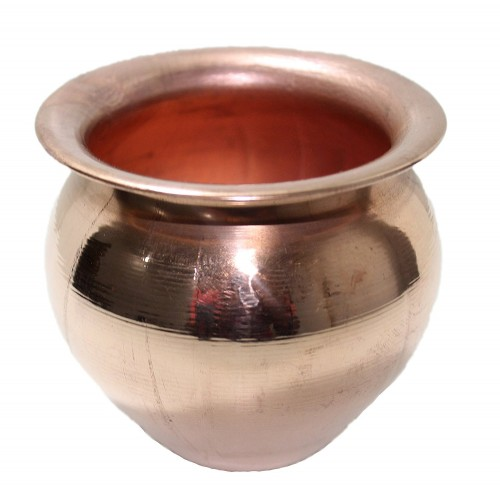Copper Small Kalash Lota Pooja Lota Copp...