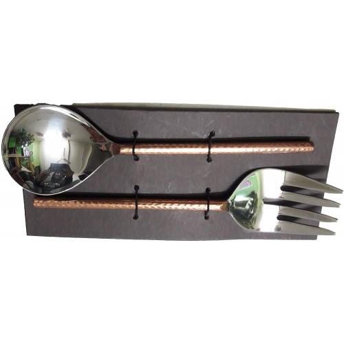 Handmade Copper and Stainless-Steel Sala...