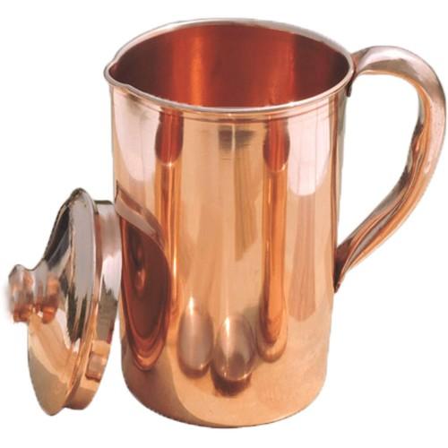 Pure Copper Smooth Water Jug Copper Pitc...