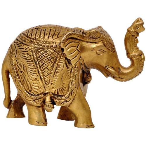 Home Decors Brass Elephant Statue