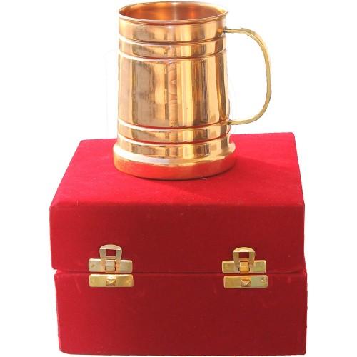 Copper Moscow Mule Tankard Mugs Capacity...