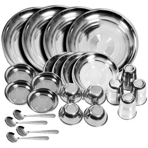 BPA Free Stainless steel Dinner Set Of 2...