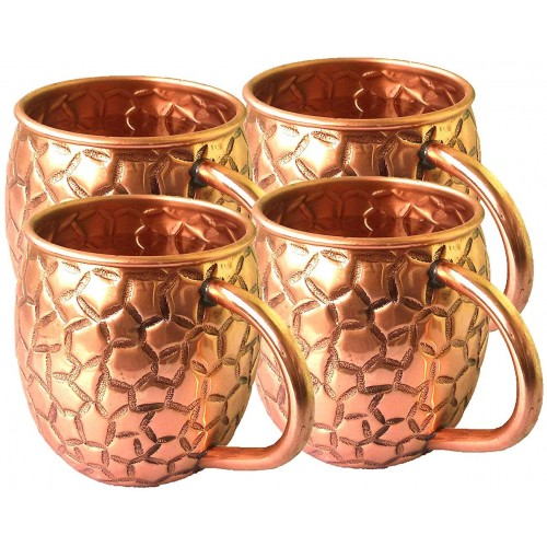 Copper Moscow Mule Mugs Capacity 16 Oz A...