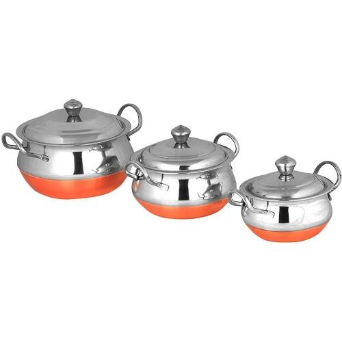Stainless Steel Handi Cookware Set of 3 ...