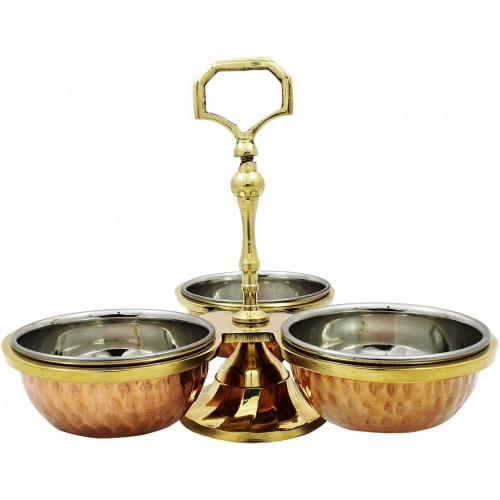 Indian Serve Ware Pickle Condiment Holde...