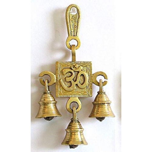 Brass Wall Hanging Ghanti Beautiful Deco...