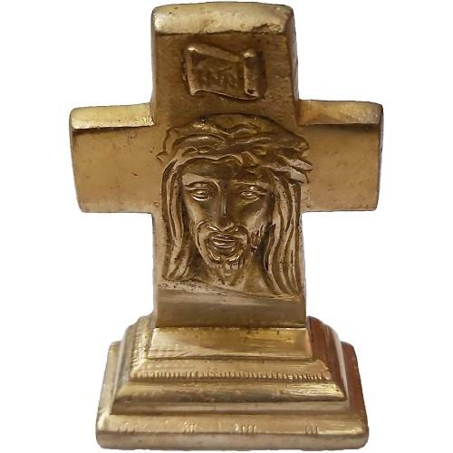 Brass Statue Jesus Christ On Cross Small...