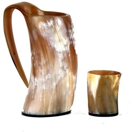 Original Viking Drinking Horn Cup Tankar...
