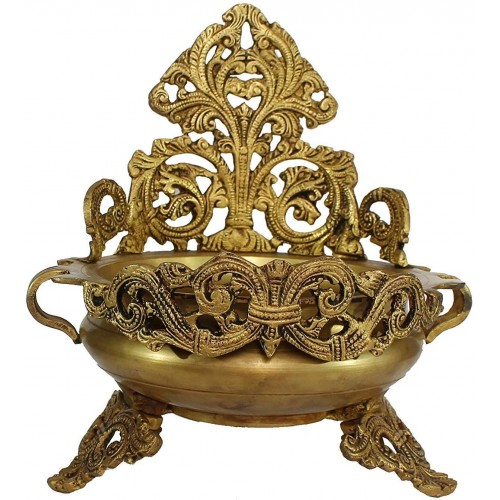 Ethnic Design Decorative Brass Urli Trad...