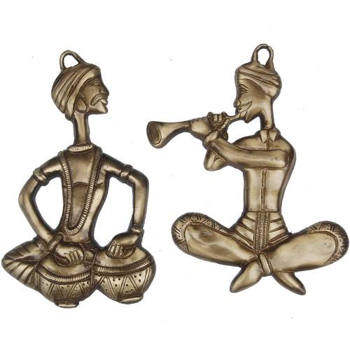 Decorative Wall Hanging Brass Made Sitti...