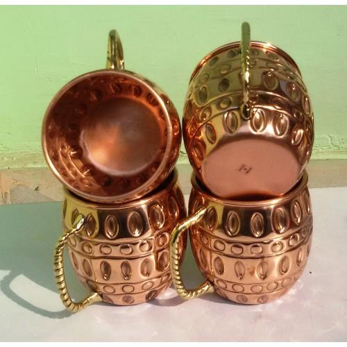 Old Fashion Barrel Copper Moscow Mule Mu...