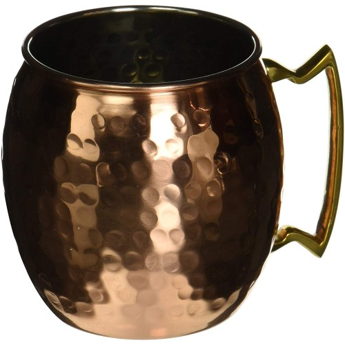 Hammered Barrel Mug for Moscow Mules 16 ...