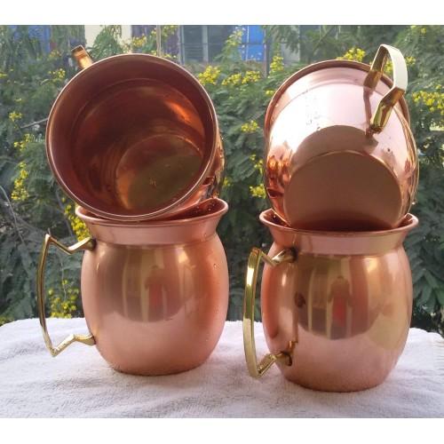 Antique Art Fashion Barrel Copper Moscow...