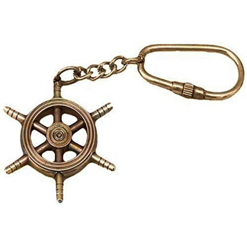 Brass Key Chain- Collectible Marine Naut...