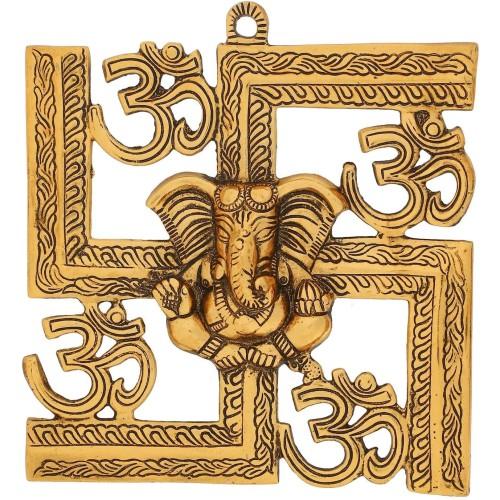 Matel Wall Hanging Of Lord Ganesha Showp...
