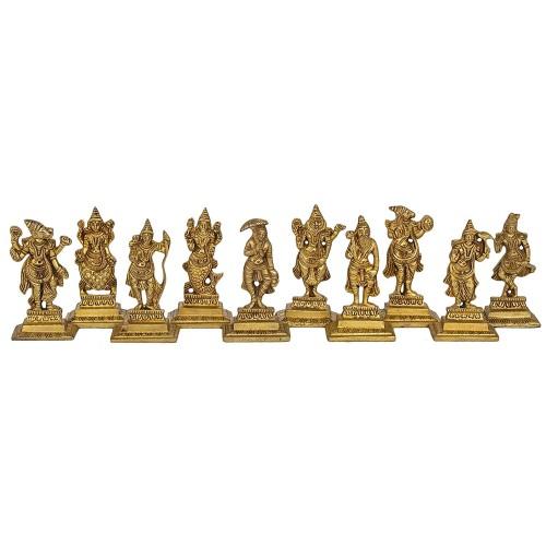 Dashavatara Ten Incarnations of Lord Vis...