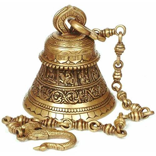 Dashavatar Hanging Bell Brass