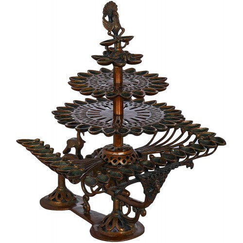 84 Divat Arti Lamp Brass Statue Color Ch...