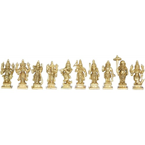 Ten Incarnations of Lord Vishnu Small Si...