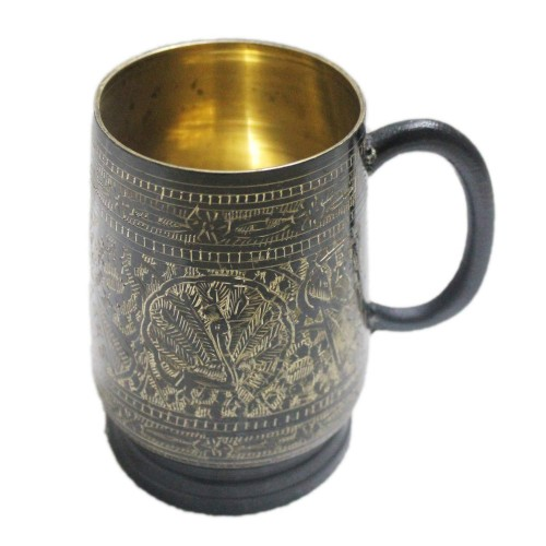 Brass Beer Stein - No Lining - 18 oz –...