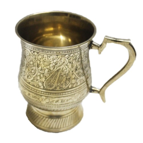 18-oz Ice Cold Brass Beer Stein, Moscow ...