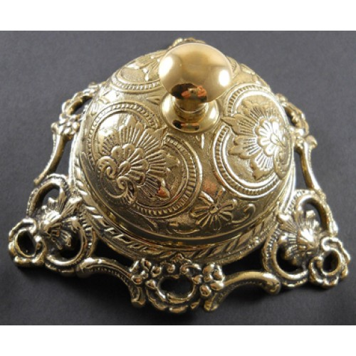 Ornate Solid Brass Handcrafted Hotel Cou...