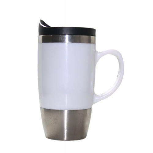 Stainless Steel Travel Mug Spill Proof a...